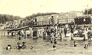 Bathing Huts, Silloth Green