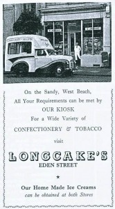 Longcakes Ice Cream GA Silloth History