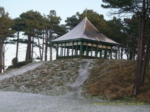 Old Pagoda in disrepair Old Silloth