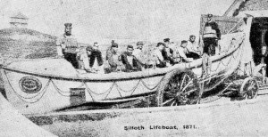 Silloth Lifeboat 1871 TW Old Silloth