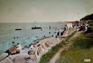 Silloth bathing Beach 1925 Old Silloth
