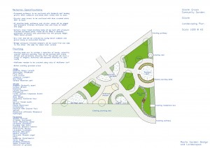 Silloth Green plan with specification 1.200