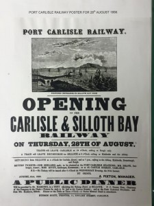 Opening Carisle and Silloth Bay Railway
