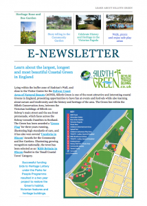 Front cover of the e-Learning Newsletter